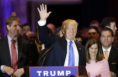 Trump Routs Rivals In Northeast Clinton Carries Four States