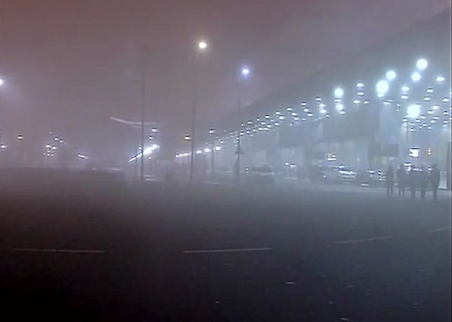 Flight operations resume at Delhi's IGI airport after 2-hour delay due to dense fog