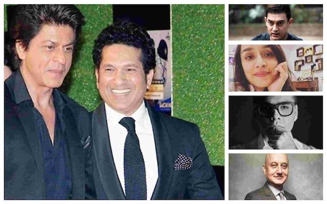 Aamir Khan, Sachin Tendulkar, Karan Johar wish SRK on his birthday