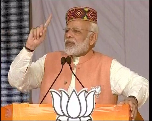 Modi hits out at Congress for abusing subsidy