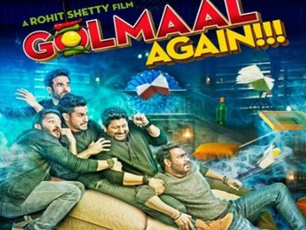 'Golmaal Again' crosses Rs 200-cr mark in just 15 days