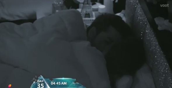 BIGG BOSS 11: Twitterati has WORST COMMENTS for Puneesh-Bandagi KISSING in bed