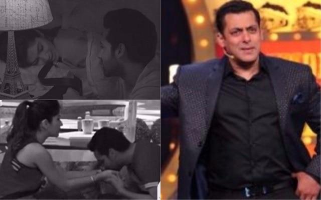 Bigg Boss 11: Salman Khan Puneesh Sharma and Bandgi Kalra LOVE AFFAIR