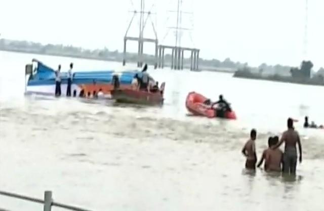 Krishna river boat tragedy: 16 drown, 7 missing as boat capsizes near Vijayawada