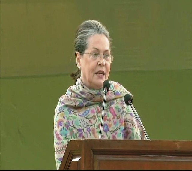 Indira Gandhi fought for secularism & against those who wanted to divide society: Sonia Gandhi