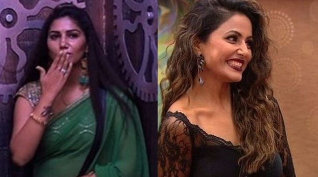 BIGG BOSS 11: EVICTED Sapna Choudhary says 'I am not puppet of Hina Khan'