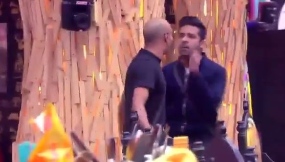 BIGG BOSS 11: Puneesh Sharma HITS Akash Dadlani; Will he get EVICTED?