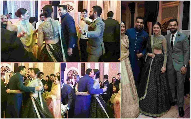 VIDEO: OMG !  VIRAT KOHLI and ANUSHKA SHARMA captured DANCING TOGETHER