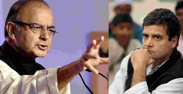 Jaitley comments on Rahul's temple visits, says with BJP there why'll people need 'clone'