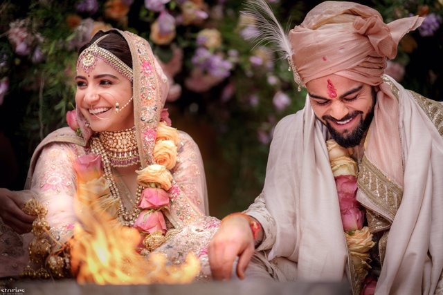 OFFICIALLY CONFIRMED: Bollywood actress ANUSHKA SHARMA and Indian cricketer VIRAT KOHLI are married now