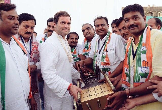 Rahul Gandhi becomes new Congress President