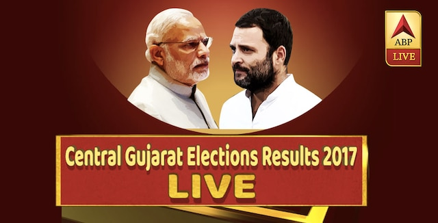 Central Gujarat assembly elections 2017 results live latest news Elections Results Gujarat