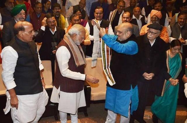Narendra Modi turns emotional at BJP meet: Here's what he said