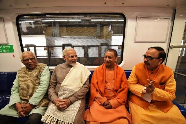 PM Modi praises CM Adityanath for defying 'Noida jinx'