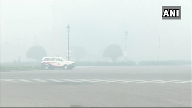 Fog induced low visibility halt operations at Delhi IGI airport