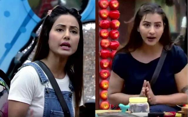 BIGG BOSS 11: Shilpa Shinde and Hina Khan fight over food again