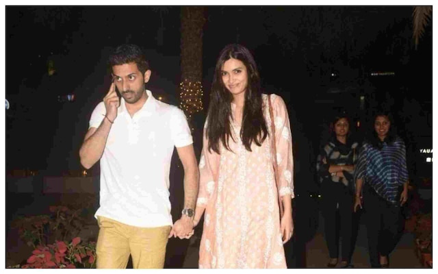 Bollywood actress Diana Penty spotted with rumoured boyfriend