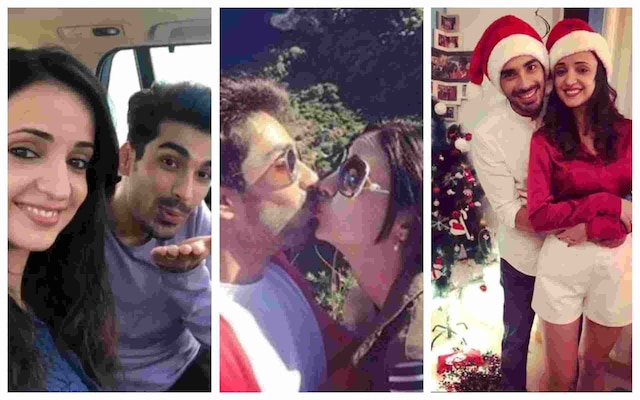 Mohit Sehgal and Sanaya Irani post picture of their KISS on social media