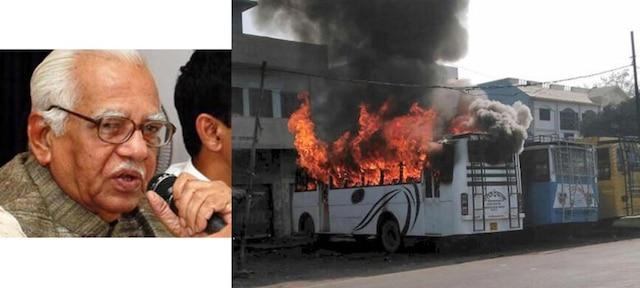 Kasganj Violence: Governor says incident a 'blot' on UP, 'shameful'