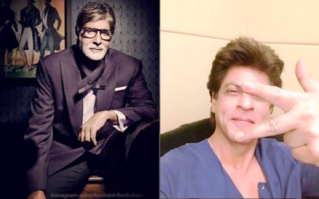 Shah Rukh Khan surpasses Amitabh Bachchan to become the most followed actor on Twitter