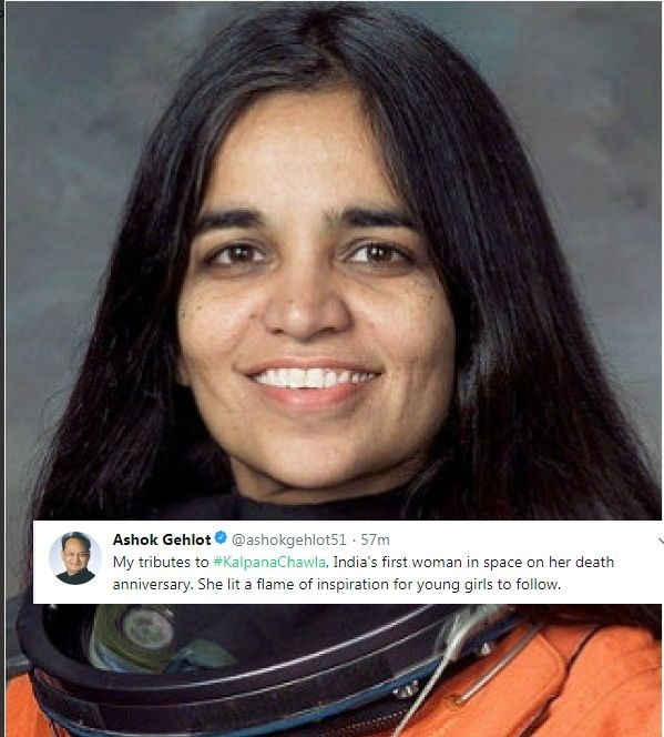 Twitter remembers Kalpana Chawla on her death anniversary, here are some facts about her