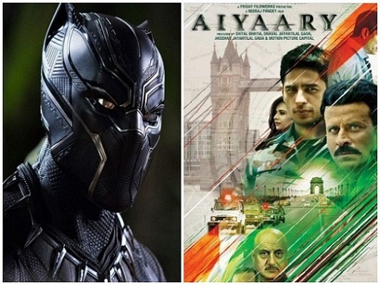 'Black Panther' vs. 'Aiyaary' at Indian Box Office