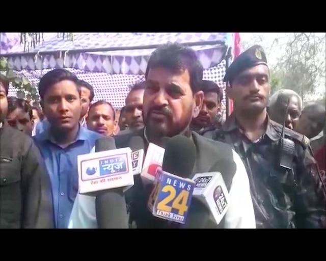 Gonda: BJP MP Brij Bhushan's SHAMEFUL comment; compares Rahul Gandhi to a 'dog'