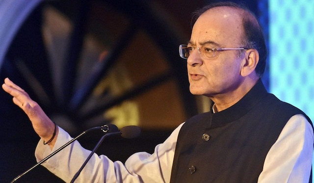 Jaitley files nomination papers for RS polls