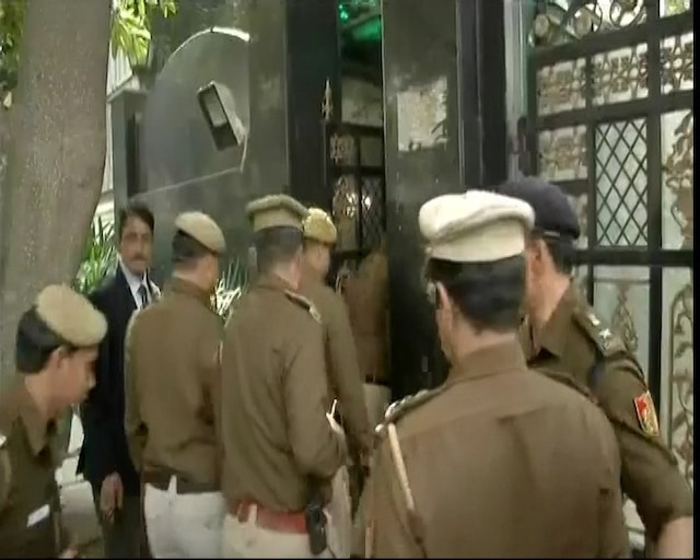 Chief Secretary assault case: Delhi Police at CM Kejriwal's home to review CCTV footage