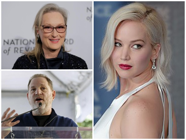 Weinstein Apologises For Invoking Names Of JLaw, Streep In Lawsuit