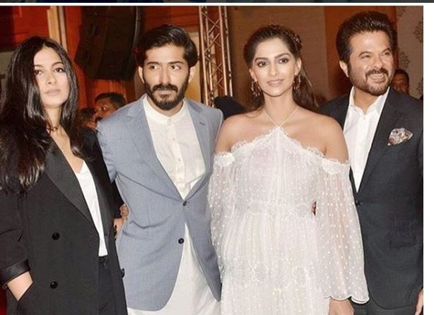Anil Kapoor,Sonam Kapoor, Mohit Marwah and Sanjay Kapoor share an EMOTIONAL note