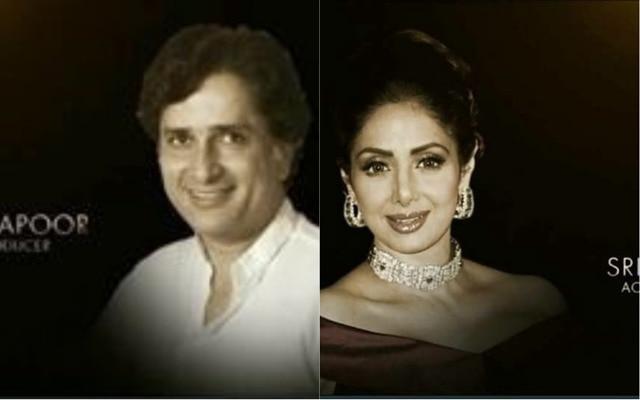 Oscar pays TRIBUTE to Sridevi and Shashi Kapoor
