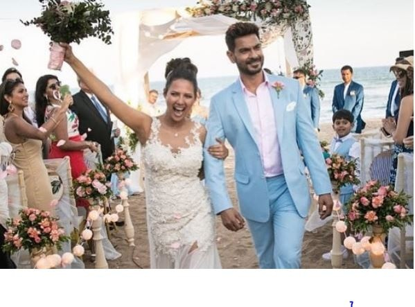 CONGRATULATIONS ! TV actor Keith Sequeria gets MARRIED to former Miss India Rochelle Rao