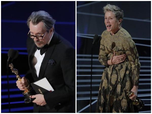 Oscars 2018: Gary Oldman, Frances McDormand Named Best Actors