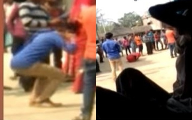 Bihar: Watch panchayat punishes couple for love marriage; Boy forced to do sit-ups, girl compelled to lick spit