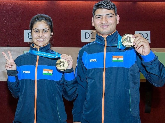 Manu Bhaker snatches 2nd World Cup Gold in shooting