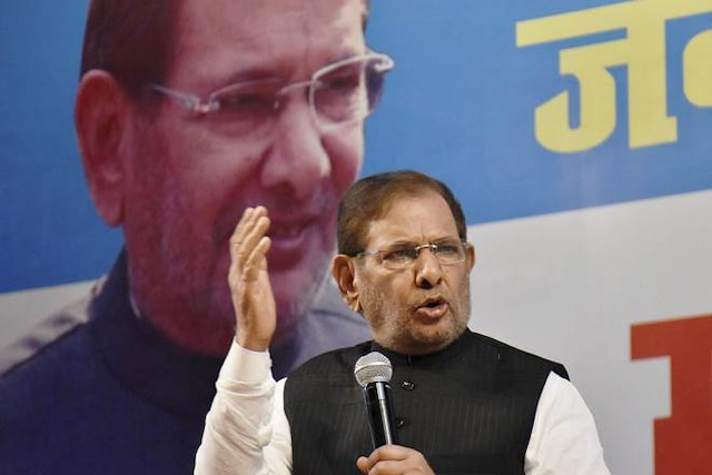 People fed up of BJP govt, yearning for change: Sharad Yadav