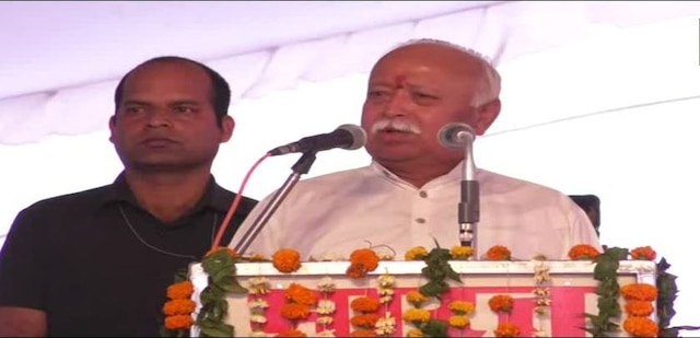 Amid chants of 'jai shree ram', Bhagwat says It is the right time to build 'Ram Mandir'