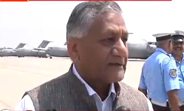 Dialogue with Pakistan will happen provided environment is made conducive for it: General VK Singh