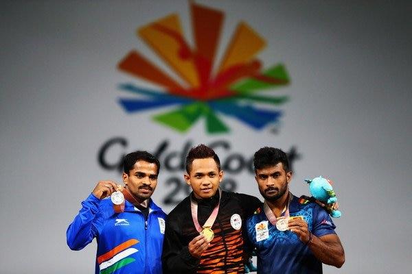 Gururaja bags Silver in men's 56 kg weightlifting event