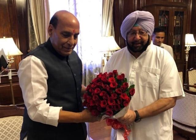 Punjab: CM Amarinder Singh urges Centre to tackle