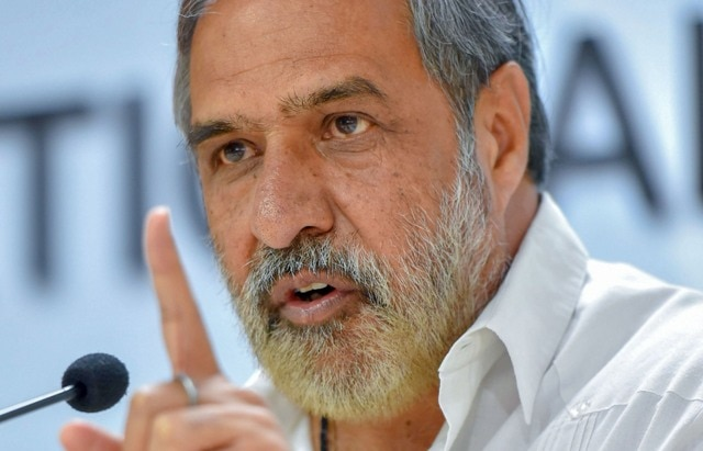 Images of Pranab at RSS HQ anguished millions of Congress workers: Anand Sharma
