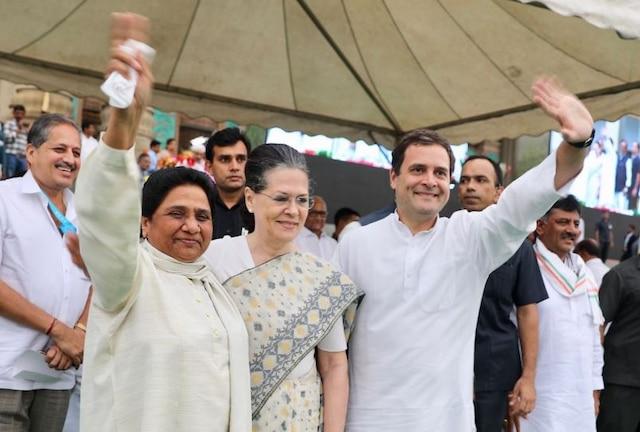 Miffed over Mayawati-Jogi alliance, Congress slams Mayawati; sees BJP role in Chhattisgarh tie up
