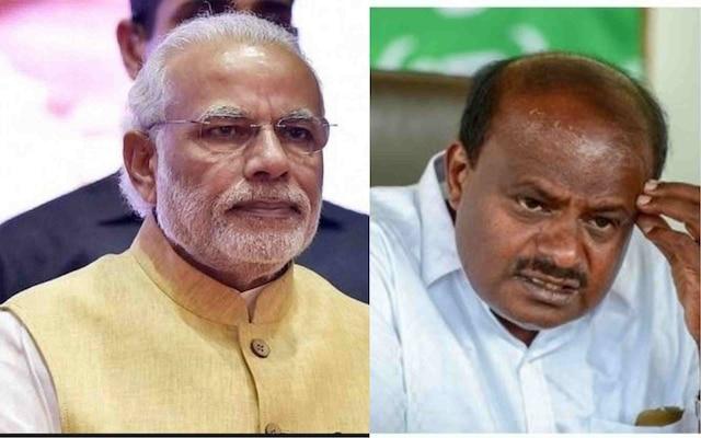 PM Modi congratulates HD Kumaraswamy and G Parameshwara on being sworn in as CM, Dy CM