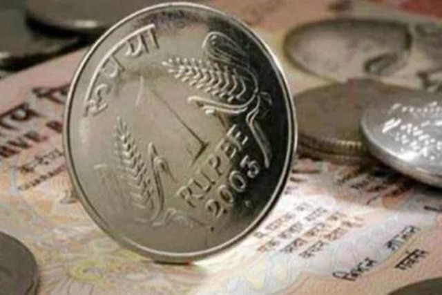 Rupee drops 22 paise against US dollar