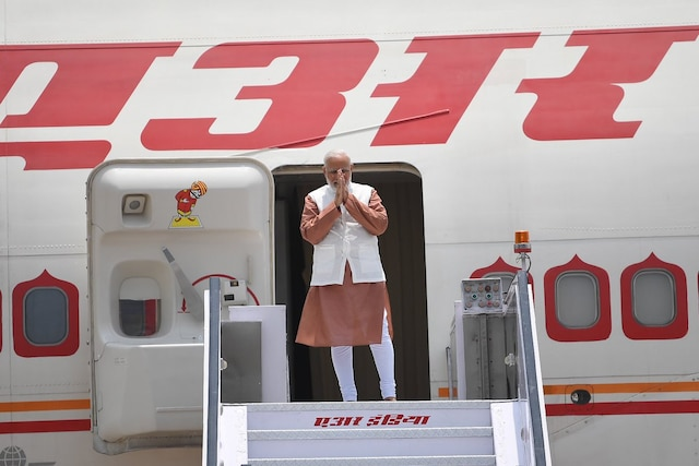 PM Modi leaves for Indonesia for a 5-day 3 nation tour