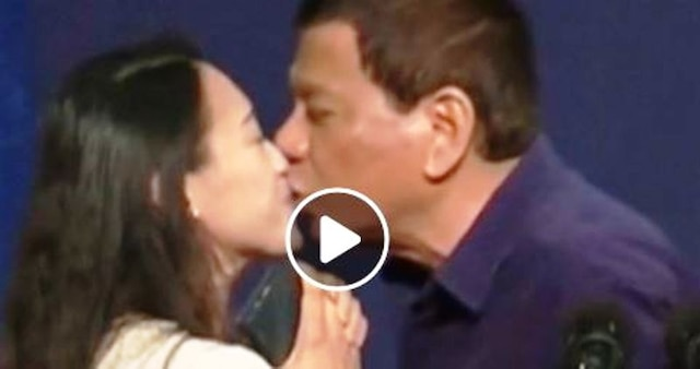Philippines President Duterte Kisses Woman On Lips, Draws Heavy Criticism