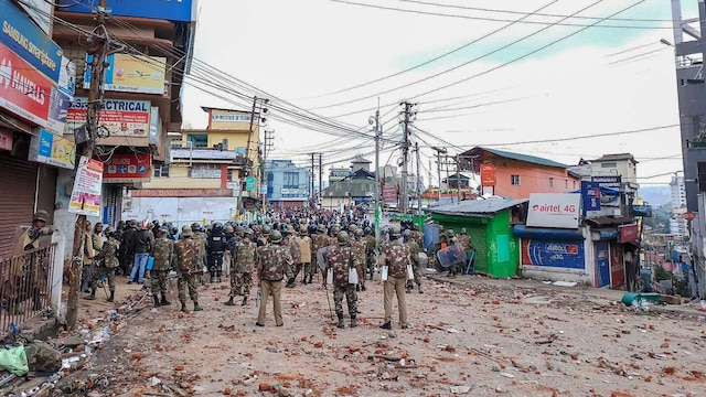 Curfew relaxed for 7 hrs in 'vulnerable' areas of Shillong