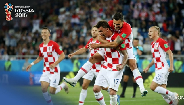 Croatia tops Group D after beating Nigeria 3-0