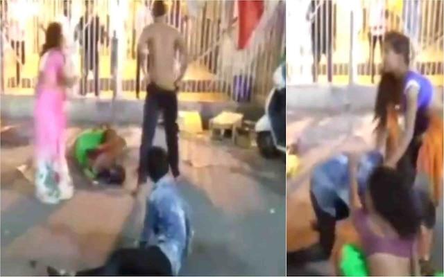 Watch: Men, women indulge in ugly scuffle outside Ujjain's Mahakal temple